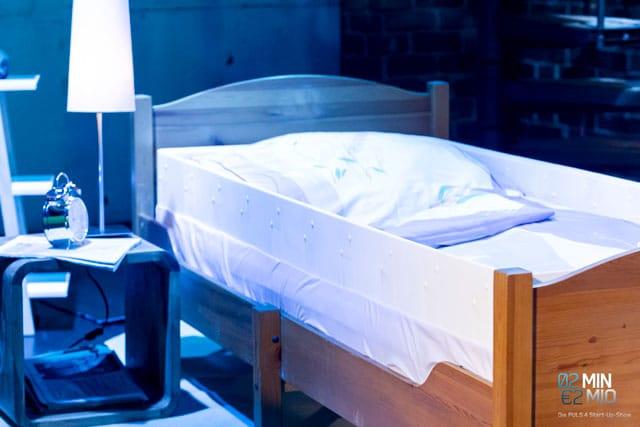 Bett mit Bettwanze Bedbugbrake
